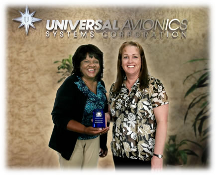 Innovation in the Workplace Award Presented to Universal Avionics
