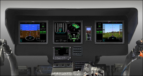 "New Flight Deck for NextGen Explorer® Debuts Cyclic-Mounted ""Point and Click"" Feature"