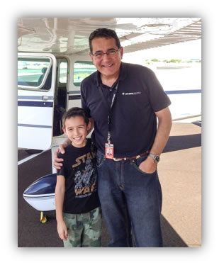 Paul DeHerrera, CEO, Becomes Volunteer Pilot for EAA Young Eagles Program