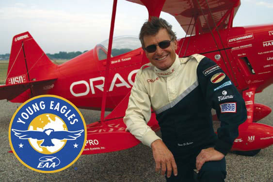 Universal Avionics and the AEA Join Forces to Support the EAA Young Eagles Program