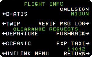 Flight Information Services