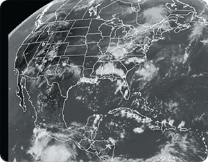 Weather Graphics - IR Satellite