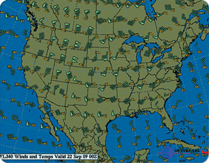 Weather Graphics - Winds Aloft