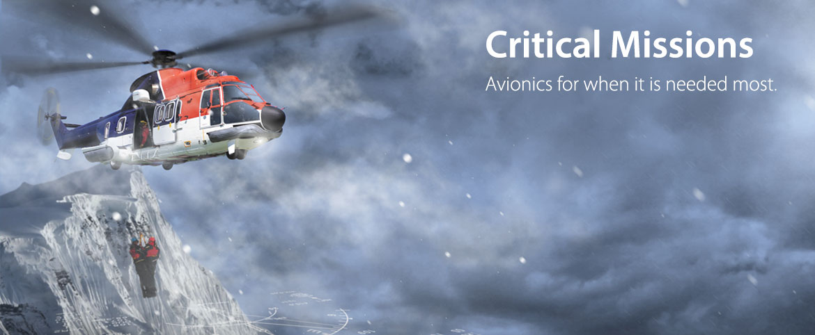 Universal Avionics Systems Corporation | SAR Helicopter Solutions