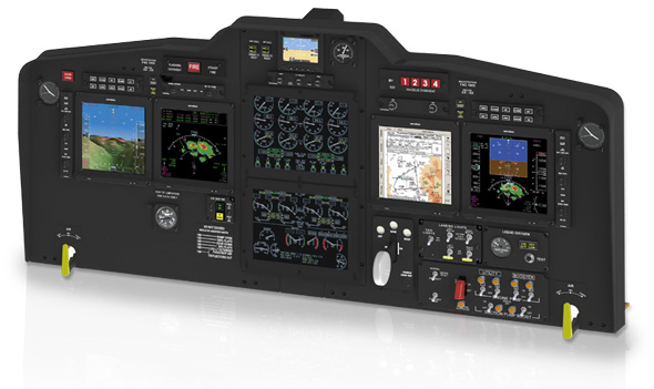 C-130 with EFI-890R Advanced Flight Displays