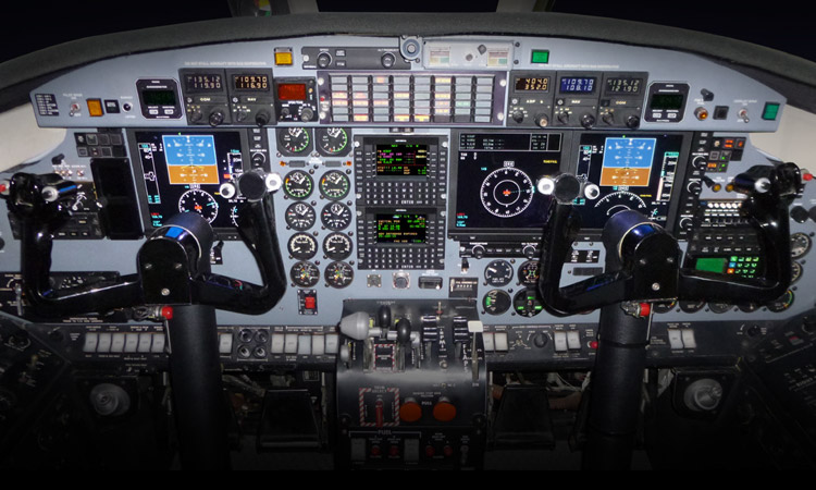 First of Two Universal Avionics Equipped C-26 Aircraft Delivered