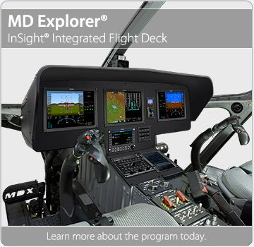 MD Explorer Next Generation InSight Flight Deck