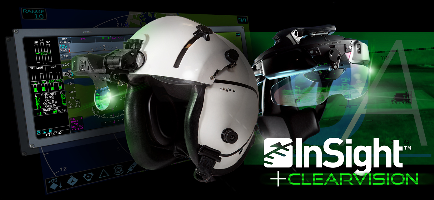 UA Unveils New InSight™ Display System + Heli-ClearVision™ EFVS
