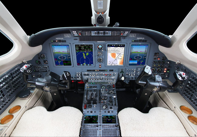 First International Citation VII Operator to Upgrade With Universal Avionics InSight® Display System