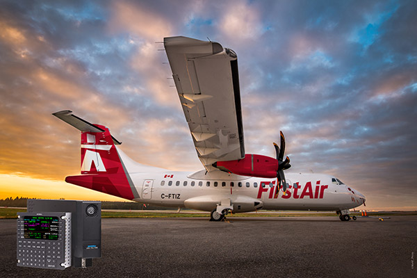 First ATR 42-500 Upgrade Completed with Universal Avionics SBAS-FMS