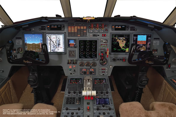 First Two Dassault Falcon® 900B Operators Take Delivery with Universal Avionics' Flight Deck Upgrade