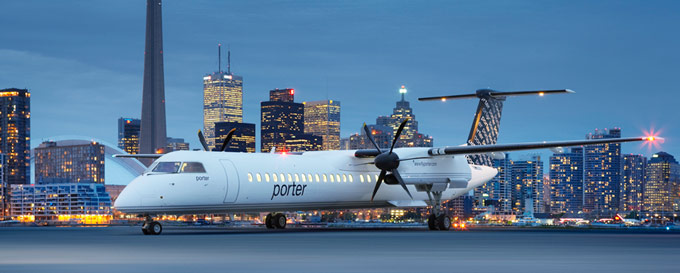 Universal Avionics Enables LPV Capability for Porter Airlines