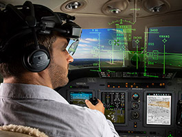 UA Unveils the Future of Commercial Aviation with New 'Head-Up, Head-Down' Flight Deck at NBAA-BACE 2018