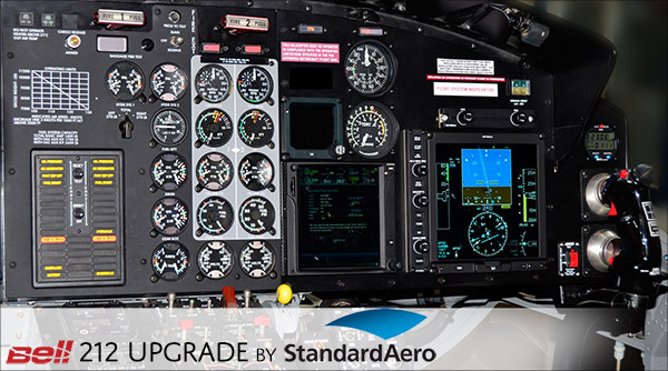 Bell 212 Upgrade by Standard Aero