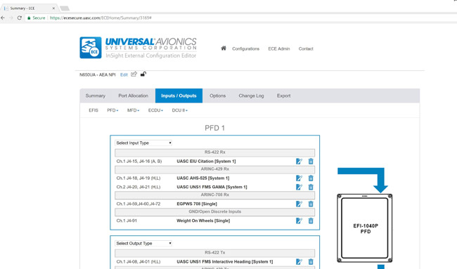 UASC Web-Based Configuration Tool for InSight® Display System Now