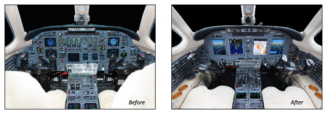 Universal Avionics Receives STC for InSight Display System on the Cessna Citation VII