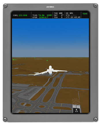 Universal Avionics InSight® Forerunner for Jeppesen Airport Mapping Database