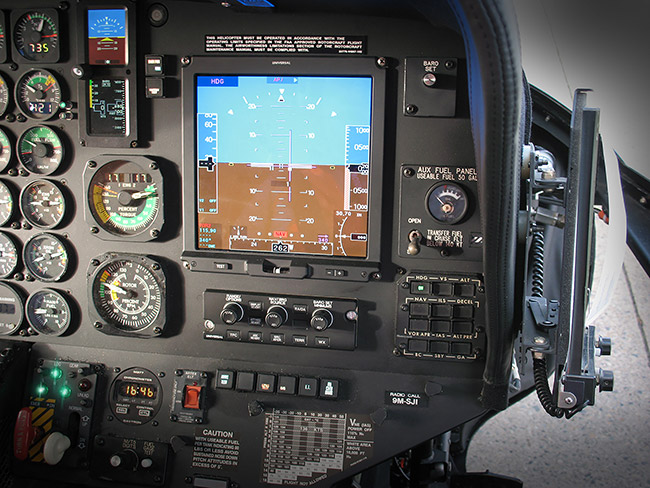 Heli-One Receives STC Approval for Universal Avionics Flight Deck Upgrade for S-76B VVIP