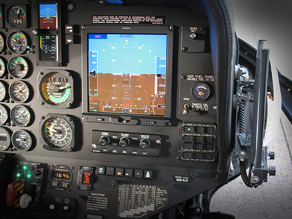 Heli-One Completes Universal Avionics Flight Deck Upgrade for S-76 VVIP